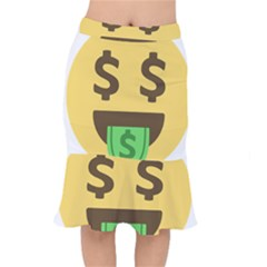 Money Face Emoji Mermaid Skirt by BestEmojis