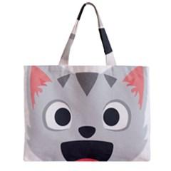 Cat Smile Mini Tote Bag by BestEmojis