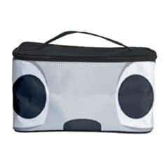 Cat Smile Cosmetic Storage Case by BestEmojis