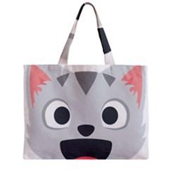 Cat Smile Zipper Mini Tote Bag by BestEmojis