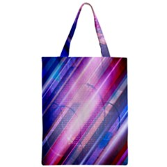 Widescreen Polka Star Space Polkadot Line Light Chevron Waves Circle Zipper Classic Tote Bag by Mariart