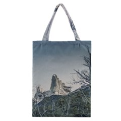 Fitz Roy Mountain, El Chalten Patagonia   Argentina Classic Tote Bag by dflcprints