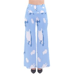 Vector Sheep Clouds Background Pants
