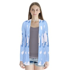 Vector Sheep Clouds Background Cardigans