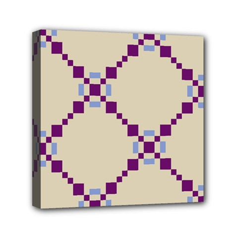 Pattern Background Vector Seamless Mini Canvas 6  X 6  by Nexatart