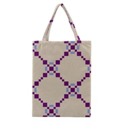 Pattern Background Vector Seamless Classic Tote Bag by Nexatart