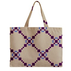 Pattern Background Vector Seamless Zipper Mini Tote Bag by Nexatart