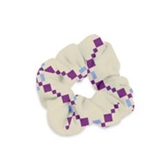 Pattern Background Vector Seamless Velvet Scrunchie