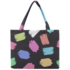 Many Colors Pattern Seamless Mini Tote Bag