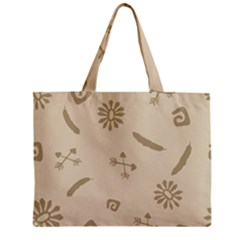 Pattern Culture Seamless American Zipper Mini Tote Bag by Nexatart