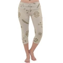 Pattern Culture Seamless American Capri Yoga Leggings