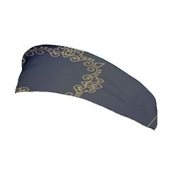 Monogram Vector Logo Round Stretchable Headband