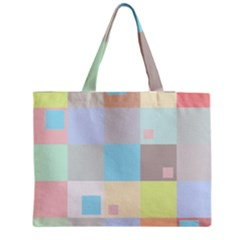 Pastel Diamonds Background Medium Tote Bag