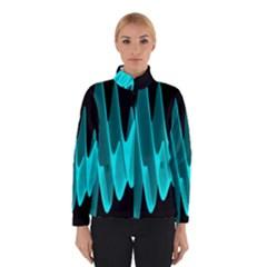 Wave Pattern Vector Design Winterwear