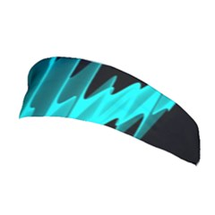 Wave Pattern Vector Design Stretchable Headband