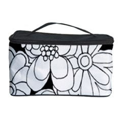 Mandala Calming Coloring Page Cosmetic Storage Case