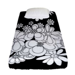 Mandala Calming Coloring Page Fitted Sheet (single Size) by Nexatart