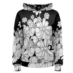 Mandala Calming Coloring Page Women s Pullover Hoodie