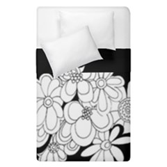 Mandala Calming Coloring Page Duvet Cover Double Side (single Size) by Nexatart