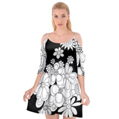 Mandala Calming Coloring Page Cutout Spaghetti Strap Chiffon Dress
