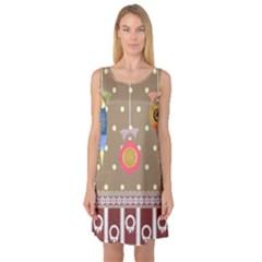 Art Background Background Vector Sleeveless Satin Nightdress
