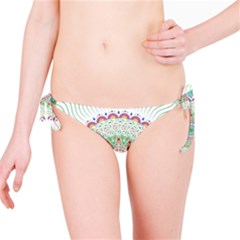 Flower Abstract Floral Bikini Bottom