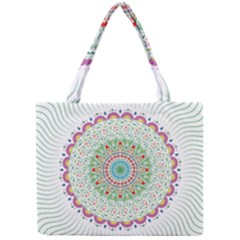 Flower Abstract Floral Mini Tote Bag by Nexatart