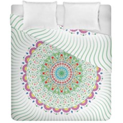 Flower Abstract Floral Duvet Cover Double Side (california King Size)