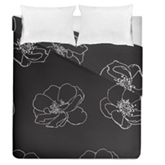 Rose Wild Seamless Pattern Flower Duvet Cover Double Side (queen Size) by Nexatart