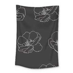 Rose Wild Seamless Pattern Flower Small Tapestry