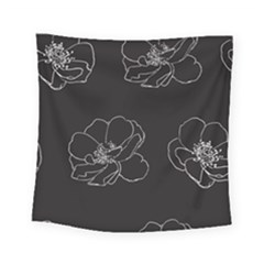 Rose Wild Seamless Pattern Flower Square Tapestry (small) by Nexatart