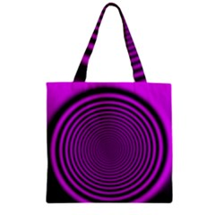 Background Coloring Circle Colors Zipper Grocery Tote Bag by Nexatart