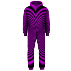 Background Coloring Circle Colors Hooded Jumpsuit (men)
