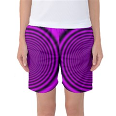 Background Coloring Circle Colors Women s Basketball Shorts