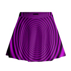 Background Coloring Circle Colors Mini Flare Skirt