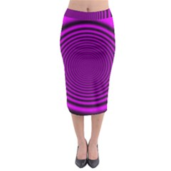 Background Coloring Circle Colors Midi Pencil Skirt