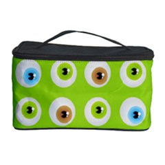 Eyes Background Structure Endless Cosmetic Storage Case by Nexatart