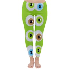 Eyes Background Structure Endless Classic Winter Leggings