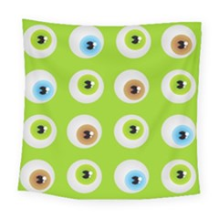 Eyes Background Structure Endless Square Tapestry (large)