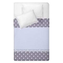 Blue Modern Duvet Cover Double Side (single Size) by Nexatart