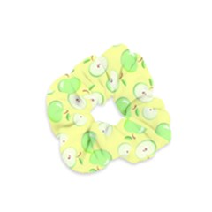 Apples Apple Pattern Vector Green Velvet Scrunchie