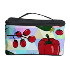 Vegetables Cucumber Tomato Cosmetic Storage Case by Nexatart