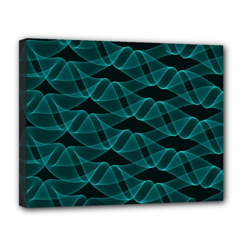 Pattern Vector Design Canvas 14  X 11  by Nexatart