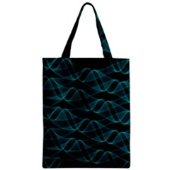 Pattern Vector Design Zipper Classic Tote Bag