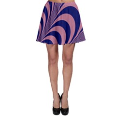 Fractals Vector Background Skater Skirt