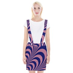 Fractals Vector Background Braces Suspender Skirt