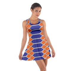 Pattern Design Modern Backdrop Cotton Racerback Dress