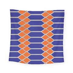 Pattern Design Modern Backdrop Square Tapestry (small)