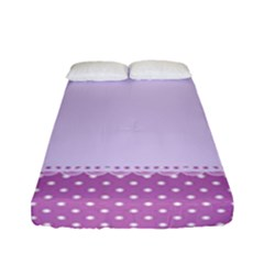 Purple Modern Fitted Sheet (full/ Double Size)