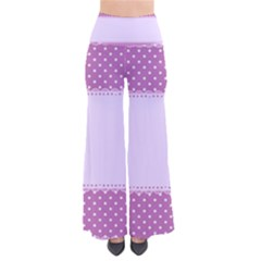 Purple Modern Pants